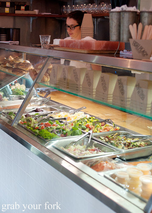 Salads at Fish Place Surry Hills