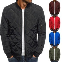 New Fashion Slim Coats parkas Men's Lightweight Windproof Packable Jacket