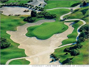 timacuan golf course lake mary florida