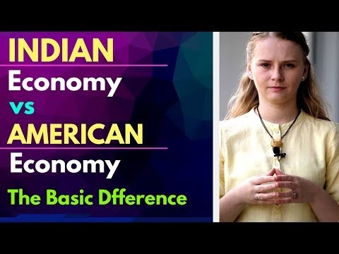 Indian Economy vs American Economy by Karolina Goswami