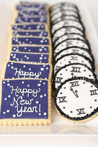 New Years Cookies #food