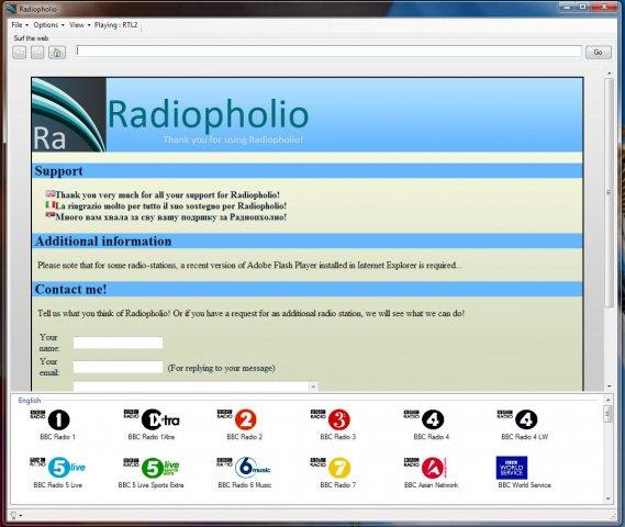 ASCOLTARE STAZIONI RADIO : RADIOPHOLIO