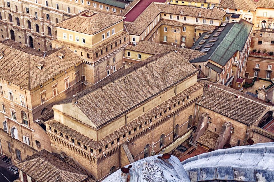 Resultado de imagen de sala de los misterios de la fe del vaticano