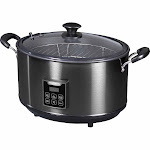 Presto Indoor Electric Smoker/Slow Cooker, 8 quart