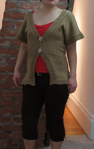 Flutter Sleeve Cardigan from Spring 08 IK