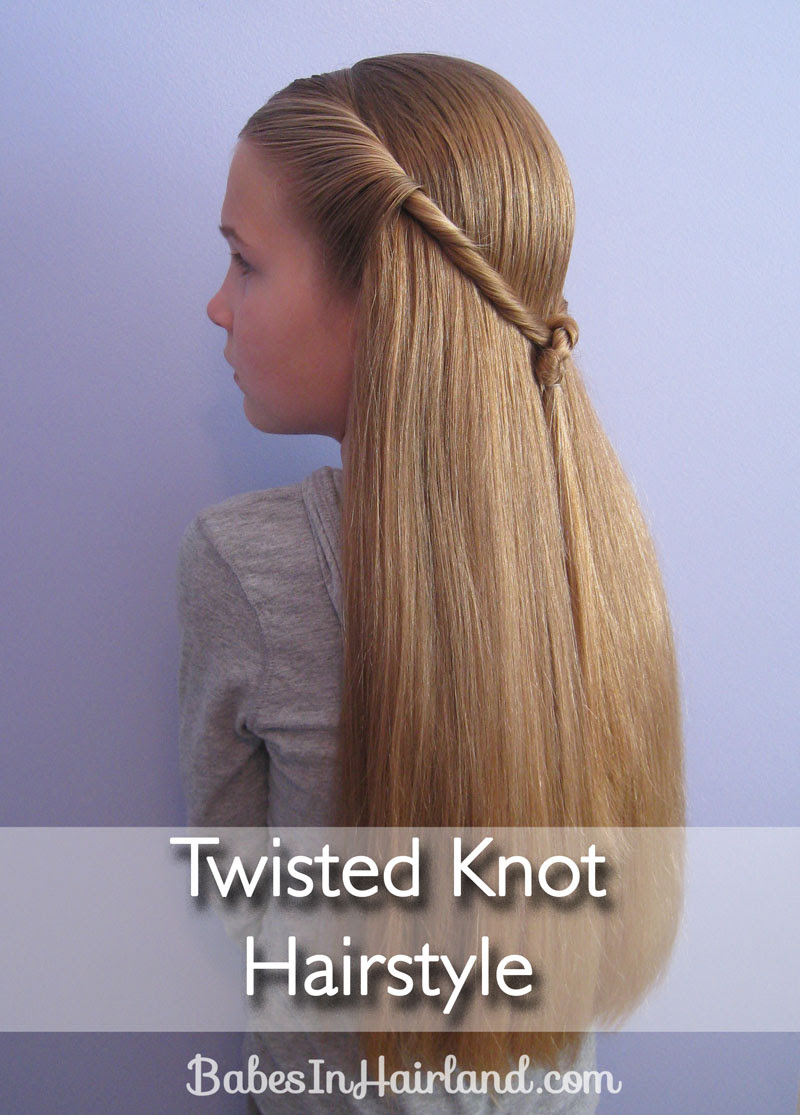 Knot Hairstyle For Long Hair Best Haircuts