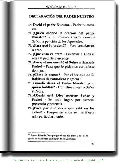 El Catecismo De Ripalda