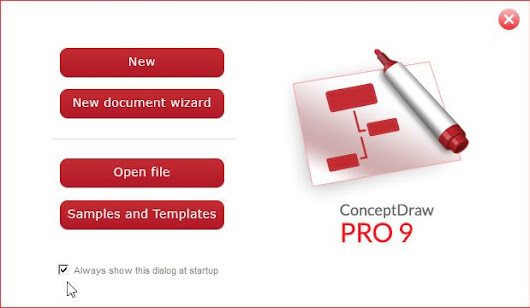 ConceptDraw Pro 9 - Artistic Abilities Not Required