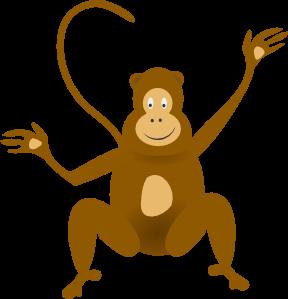 monkey clip art ringer