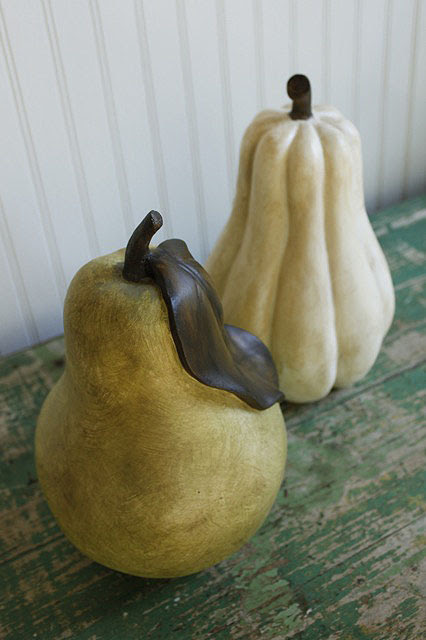 Ballard Designs Inspired Glazed Pear