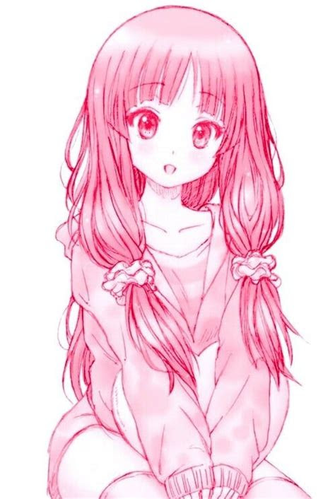 aesthetic anime animegirl art cute draw