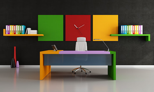 Five Office Interior Design Ideas to Inspire You -