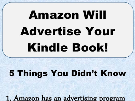 Advertise Your Kindle Book (infographic)