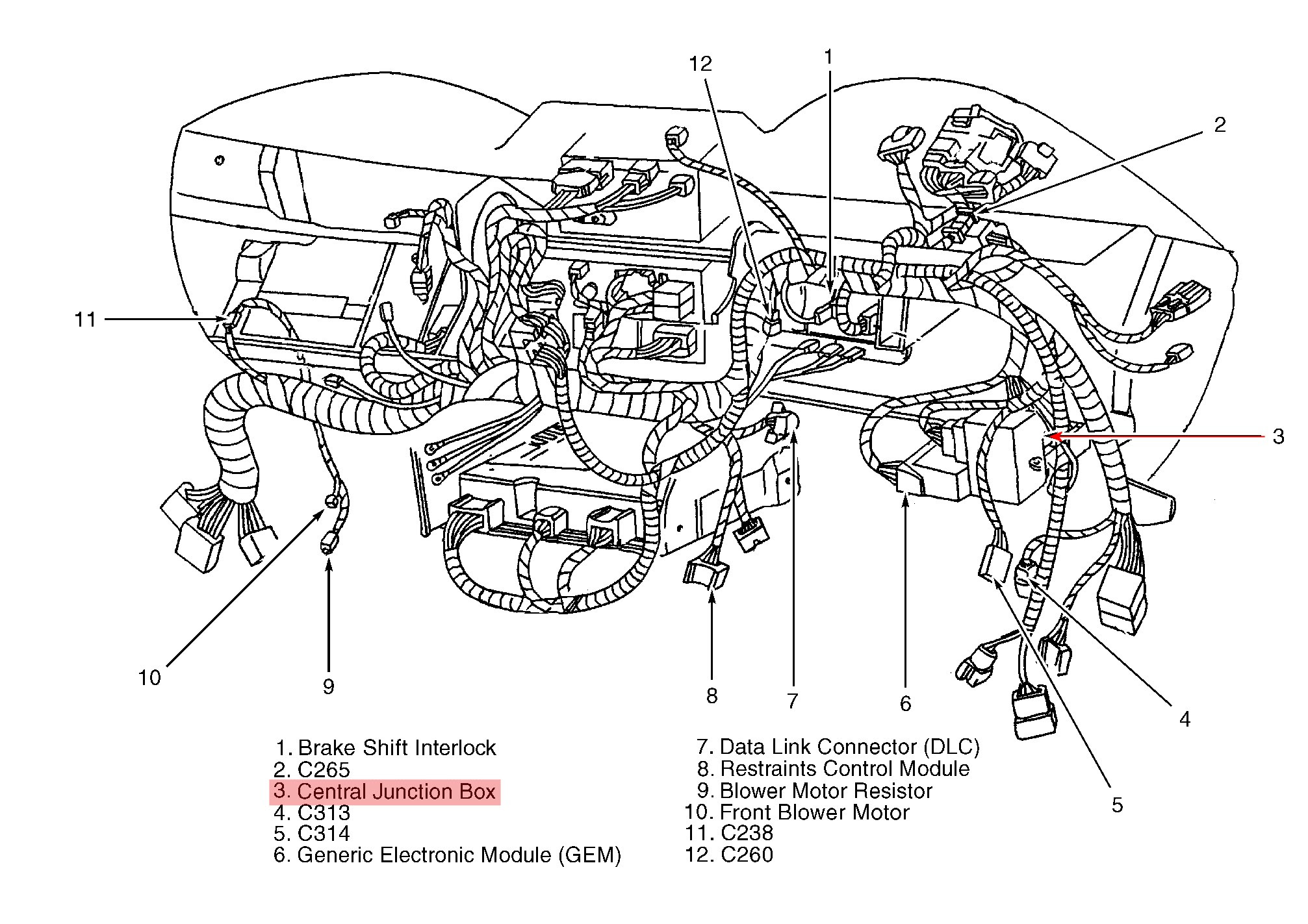 2005 Ford 5 4 Engine Diagram