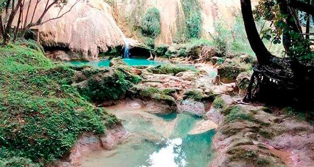 Sismo habría desviado cauce de río Agua Azul en Chiapas, señalan