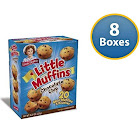 Little Debbie Little Chocolate Chip Muffins 8.27 oz (8 Boxes)