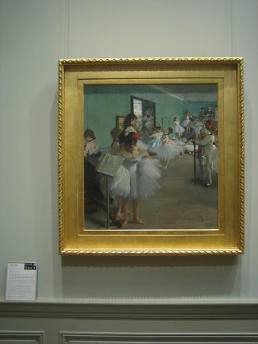 The Dance Class, 1874, Edgar Degas _8408