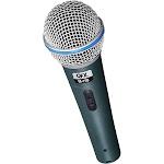QFX M158 Uni-Directional Handheld Microphone