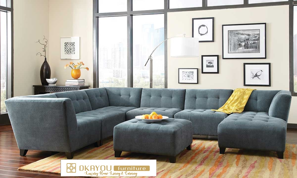 Kursi Sofa Sudut Minimalis Model Sectional Sofa L Dkayou Furniture