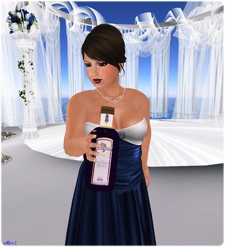 Kess enjoying the wedding