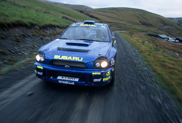 SUBARU WRX Prodrive RallyCar 2001 GREAT BRITAIN