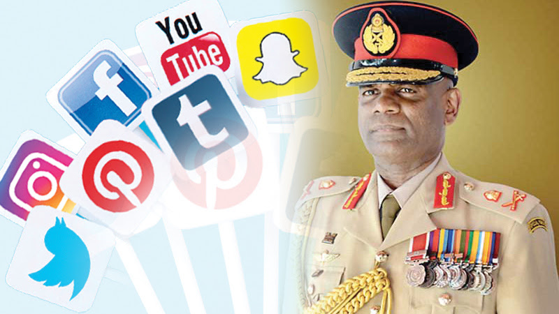 SOCIAL MEDIA RESTRICTED FOR ARMY PERSONNEL