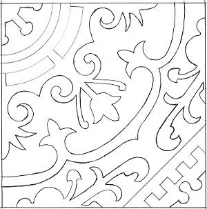 Cuban Heritage Pattern 140
