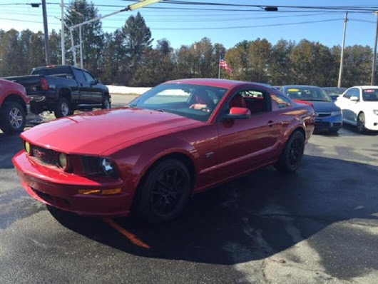 Used 2005 Ford Mustang GT Premium Coupe for Sale in Salem NH 03079 Toy Store Auto Sales