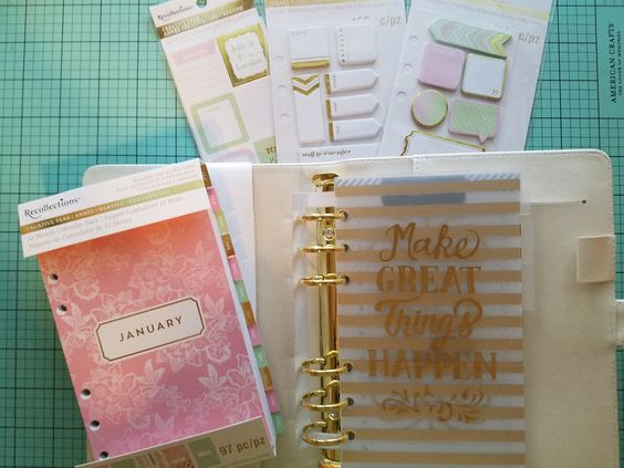 Recollections @ Michaels | Planner Obsession ~ Bling, Dashboards ...