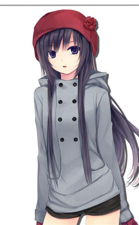pin  anime girls