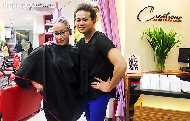 Sumi and Lourd Ramos at Creations Salon