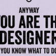 Things You Shouldn't Say To A Graphic Designer - DesignTAXI.com