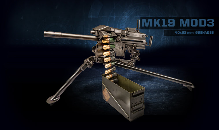 Resultado de imagen para Mk 19 Mod 3