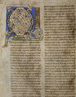 Edición en latín (ca. 1200).