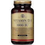 Solgar, Vitamin D3 1000 IU, 250 Softgels