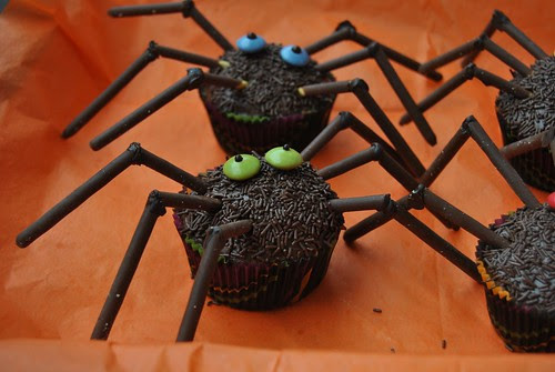 Chocolate Spider Muffins