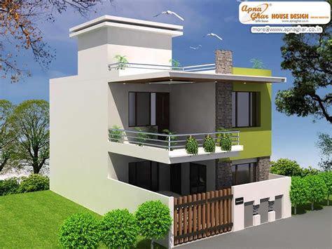 pin  apnaghar  apanghar house designs fachada de