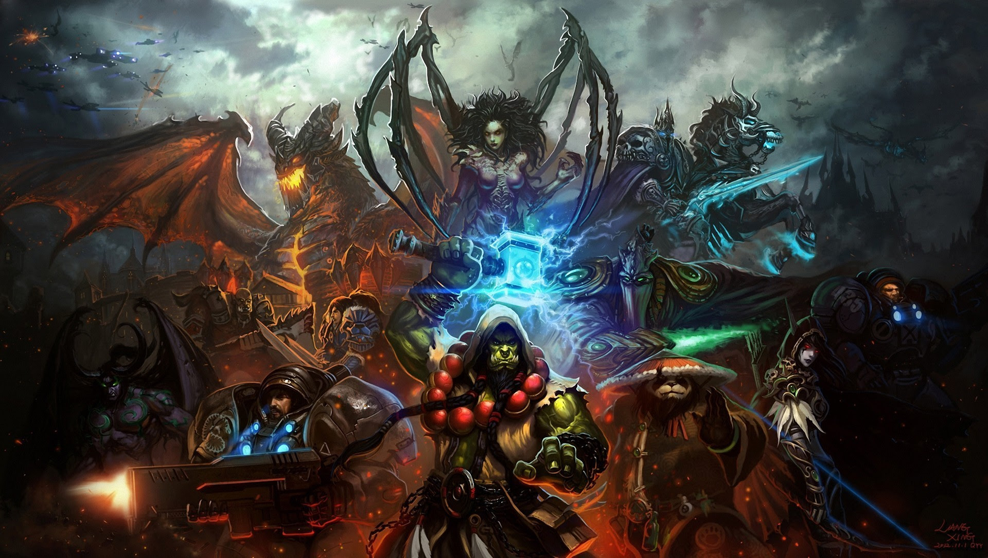 Starcraft Legacy Of The Void Wallpapers Pictures Images 1920x1086