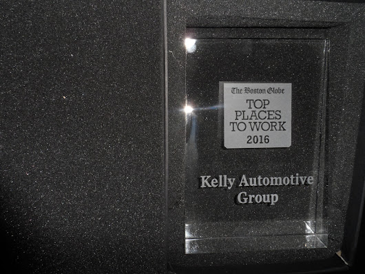 Kelly Automotive Group | Kelly Auto Named 7th Best Large Employer To Work For By Boston Globe