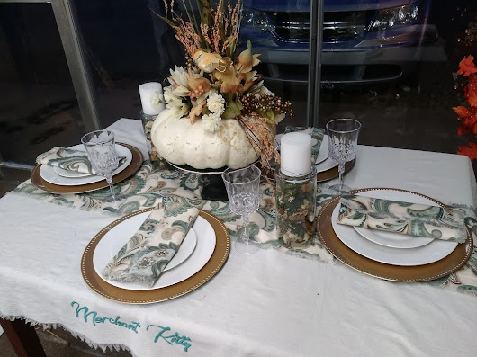 Tablescapes! Getting Ready to Entertain in Style - Merchant Kitty