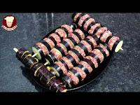 Ev Fırınında Kıymalı Patlıcan Kebabı Tarifi - Kolay Doğal Yemek Tarifleri