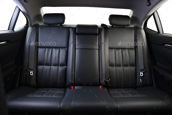 Car Interior From Back Seat