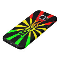 rasta reggae graffiti flag samsung galaxy s6 cases