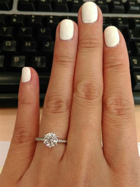 What Size Carat Is Good For Engagement Ring   Engagement