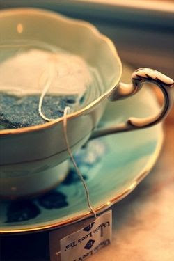 My favourite kind of day: A rainy day, when I cuddle up with my mom, and a pot of tea, and watch BBC period films. Nothing is better!