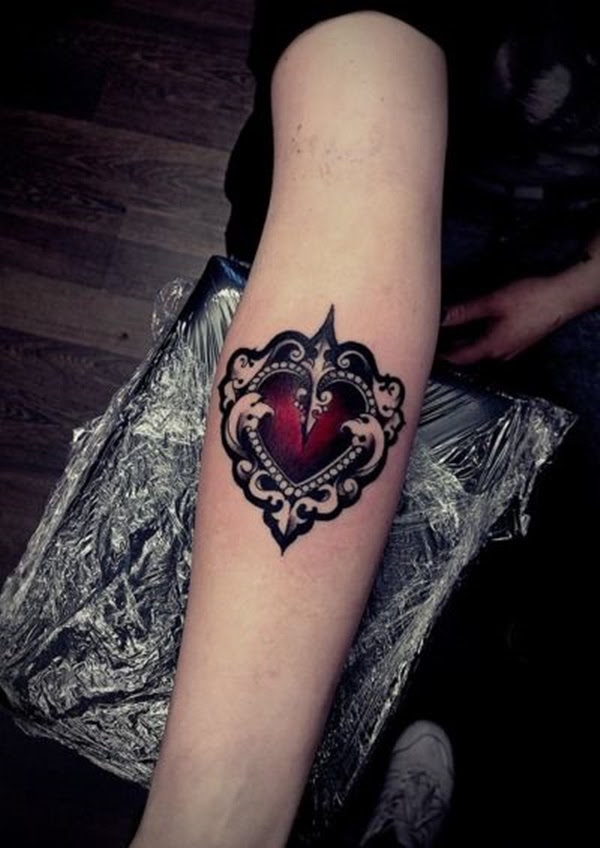 100 Delightful Heart Tattoos Designs For Your Love