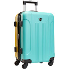 "Travelers Club Luggage Modern 20"" Hardside Expandable Carry-On Spinner"