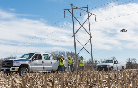 Kansas State Polytechnic and Westar Energy Partner on Drone Technology for Electric Utility Inspection  - UAS VISION