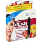 Applied Nutrition Skin Revitalization Liquid Collagen, Strawberry & Kiwi Flavored - 10 tubes, 3.35 fl oz total