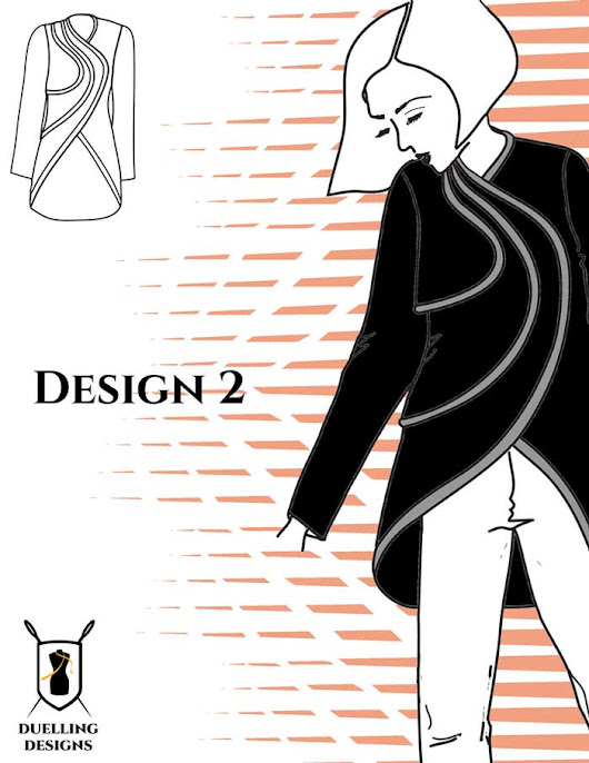 I am Voting for Design 2 in August's Design Challenge - Duelling Designs